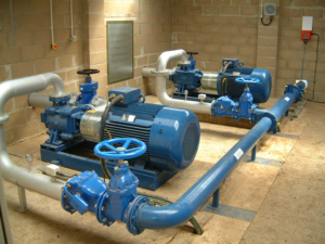 Irrigation Pumps Pumping Station Installation