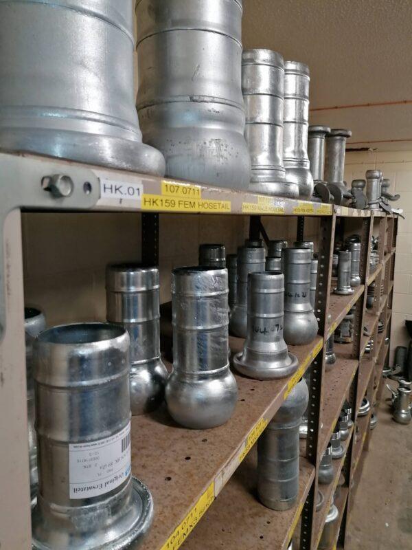 Bauer Irrigator Steel Spare Parts Hosetails