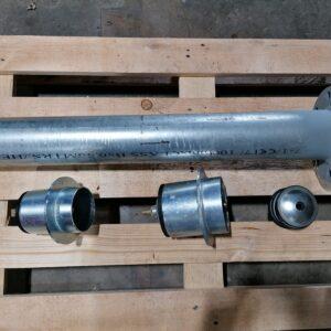"Underground main hydrant attachment Bauer Wright Rain 5"" 4"" pads"